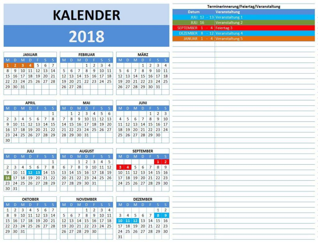 Indesign Kalender Vorlagen Kostenloser Download Probobinel Cf